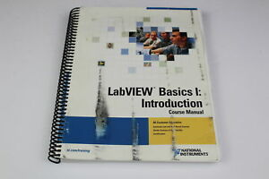National Instruments 320628m 01 Labview Basic I Introduction Course Manual