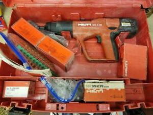 Hilti Dx A40 Powder Actuated Concrete Nailer Nail Gun W Case Accessories