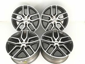 20 20 Inch Oem Specs Ford Explorer Sport Wheels Rims Brand New Set Of 4 10061