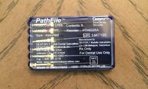 Genuine New Dentsply Tulsa Pathfile Endodontic Rotary Files Assorted 25mm Usa