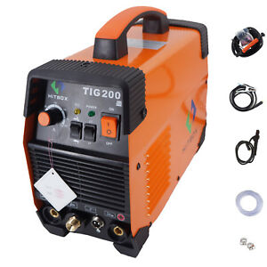 Portable Tig Welding Machine 200a 220v Tig Mma 200 With Tig Stick Igbt Inverter