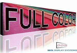 Wifi 25 X 25 Outdoor 10mm Full Color Programmable Led Sign Board Image Display