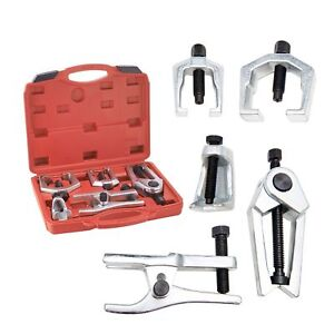 6pc Front End Service Tool Kit Separate Pitman Arm Tie Rod End Puller Ball Joint