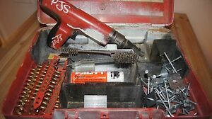 Hilti Dx350 Power Actuated Nail Gun Tool Nail Gun Hilti Dx 350 Powder Actuated N