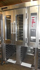 Used Baxter Ov300 18 Mini Rotating Rack Convection Oven Gas