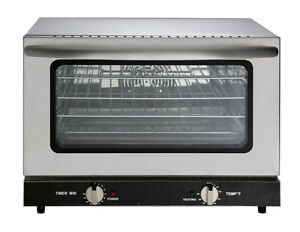 Heavy Duty Half Size Countertop Convection Oven 1 5 Cu Ft 120v 1600w Etl
