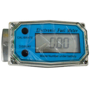 New Electronic Turbine Digital Diesel Oval Gear Fuel Flow Meter