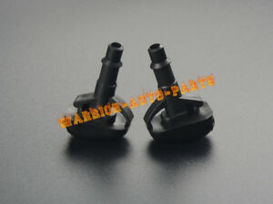 Windshield Washer Wiper Water Spray Nozzle For 1995 2005 Mitsubishi Lancer 2qty