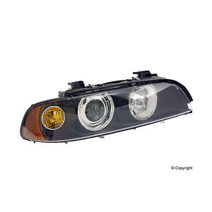 One New Hella Headlight Assembly Front Right 008053061 63126900200 For Bmw