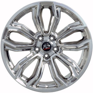 19 Ford Mustang Style Rims Wheels Replacement Pvd Chrome New Set Of 4 19x9