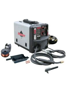 Smarter Tools Mig 140h 120v Solid Wire And Flux Cored Welder