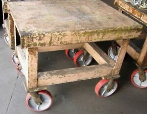 Heavy Duty Material Handling Carts Metal Fabrication Industrial Manufacturing