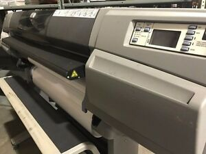 Hp Large Format Printer Designjet Design Jet 5500 Used