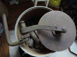 Vintage Ih Disk Assembly For Ih Plow