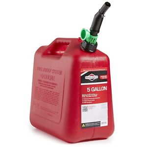 Briggs Stratton 85053 5 best Seller Gallon Gas Can Auto Shut off