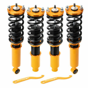 Assembly Coilovers Kits For Honda Cr V 1996 2001 Adjustable Height Shocks Green