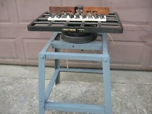 Sears limited craftsman Wood Shaper With Several Tools Included