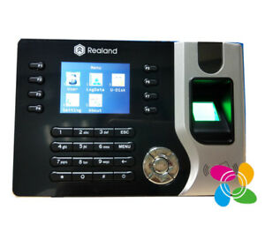 Realand French Language Fingerprint Attendance System With 125khz Rfid Card
