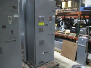 Square D Enclosed Altivar Ac Drive W Bypass Breaker Disconnect Used