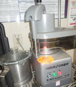 Used Robot Coupe R 401 Food Processor