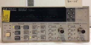 Hp Agilent 53131a Universal Frequency Counter