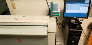 Oc Tcs 500 Wide Format Scanner And Printer