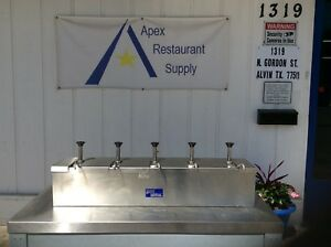 Condiment Pump Station W 5 Server Cp 10 Pumps Stainless Steel 3038
