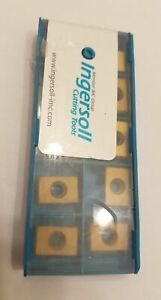 10 Pcs Ingersoll Cutting Tools 5806032 Lne323 002 In6542 Lathe Carbide Inserts