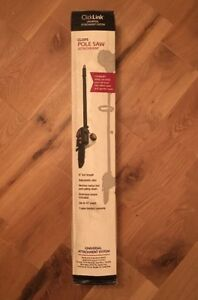 BRAND NEW ClickLink Universal Pole Saw Attachment Up To 11' Reach New FAST SHIP!