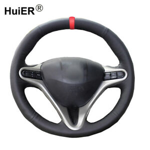 For Honda Civic Old Civic 2004 2010 2011 Hand Sewing Car Steering Wheel Cover