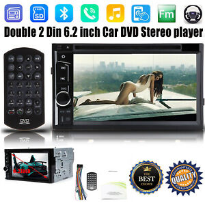 6 2 Double Din Cd Dvd Player Car Radio Stereo Bluetooth For Ford Ranger Escape
