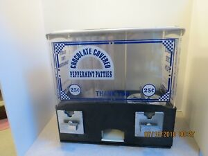 Peppermint Pattie Vintage Vending Machine non Working