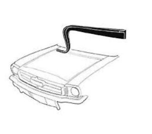 1964 1965 1966 Ford Mustang Hood To Cowl Firewall Weatherstrip Seal W Clips New