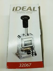 Ideal 32067 Automatic Numbering Machine