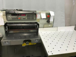 Printing Press 1993 Polar 76em Paper Cutter