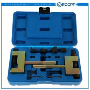 13pcs Timing Chain Riveting Tool Set For Mercedes Benz Chrysler Jeep