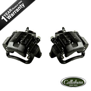 Rear Black Brake Calipers For Toyota Tundra Sequoia