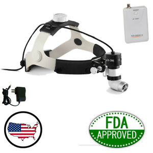 Fda 5w 80000lx Led Surgical Headlight High power Medical Dental Head Lamp Usa