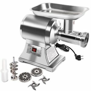 Commercial Stainless Steel True 1hp Electric Meat Grinder No 12 New