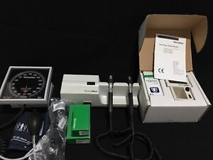 Welch Allyn 767 Wall Transformer New Heads Suretemp Thermometer