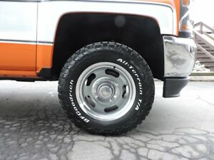 Chevy Big 10 Ten Retro Rally 18 Wheels Rims 33 Bfg Tires Package 6x139 7 Gmc