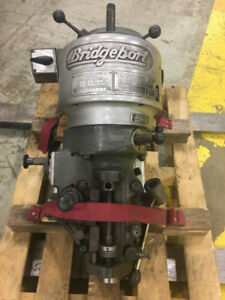 1 Hp Bridgeport Step Pulley Milling J Head R8 Spindle