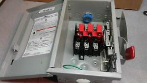 Siemens Gnf322 Non fusible General Duty Safety Switch 60a
