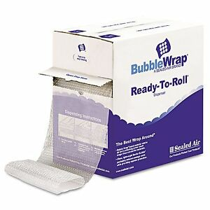 New Sealed Air Bubble Wrap Cushion Bubble Roll 1 2 Thick 12 X 65ft No Tax
