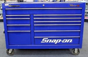 Snap On Kra2411pcm 55 11 Drawer Double Bank Classic Series Roll Cab Tool Chest