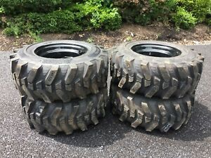 12 16 5 Hd Skid Steer Tires wheels rims camso Sks532 12x16 5 For New Holland