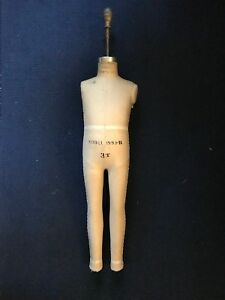 Vintage Superior Dress Form Mannequin Child 3t