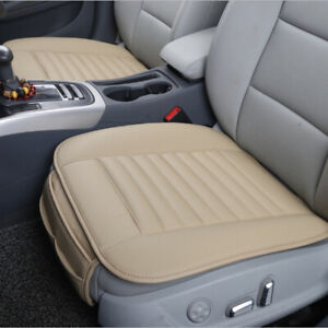 High Quality Pu Leather Bamboo Charcoal Car Seat Cover Cushion Breathable Pad