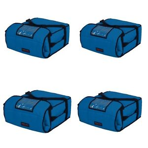 Case Of 4 Pizza Bags holds 4 5 16 Or 18 Pizzas Blue