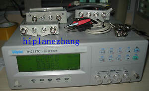 High accuracy 0 1 Bench Top Lcr Meter Dqz Transformer Tester 100khz Th2817c